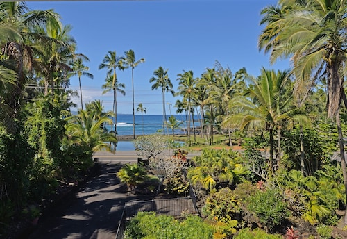 Best Hilo Location @ Richardsons Beach Park, Swimming, Snorkeling Sleeps 8-save$