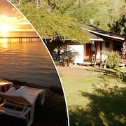Poerani Moorea : Polynesian Cottage With Climatisation, Lagoon Side, 1-4 Pers