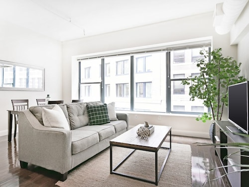 Great Place to stay Spacious 2BR in Financial District by Sonder near Boston