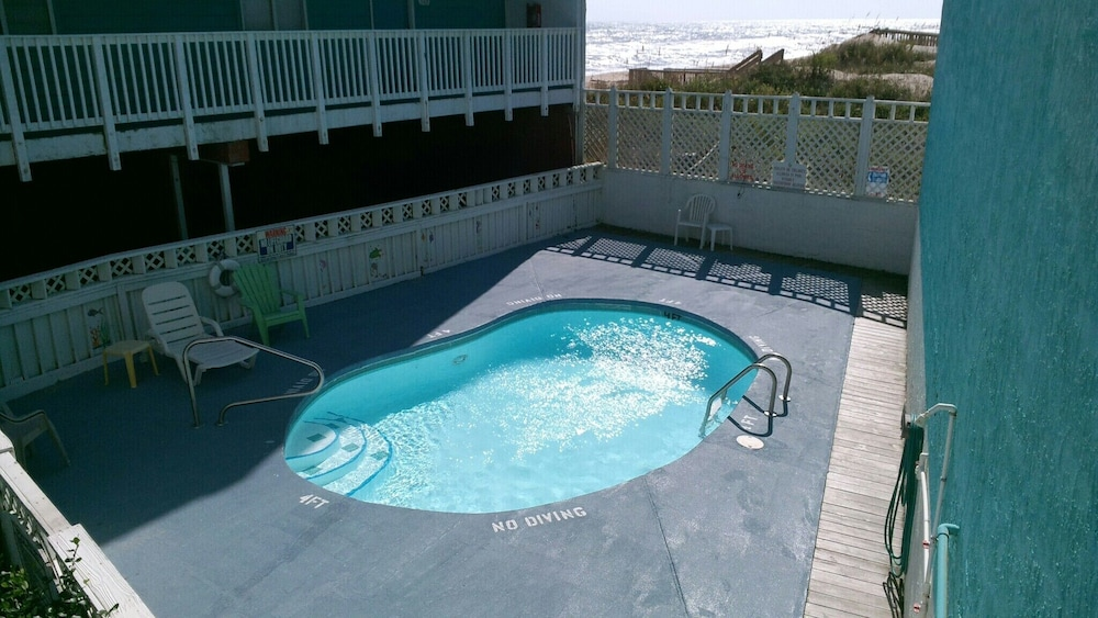 Pool, WE ARE OPEN! Pierview 103 - Great Views!! Updated 2 BR Oceanfront Condo