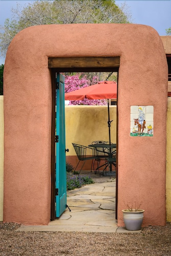 Check Expedia for Availability of Lavender - Charming, Walk To The Plaza - Two Casitas