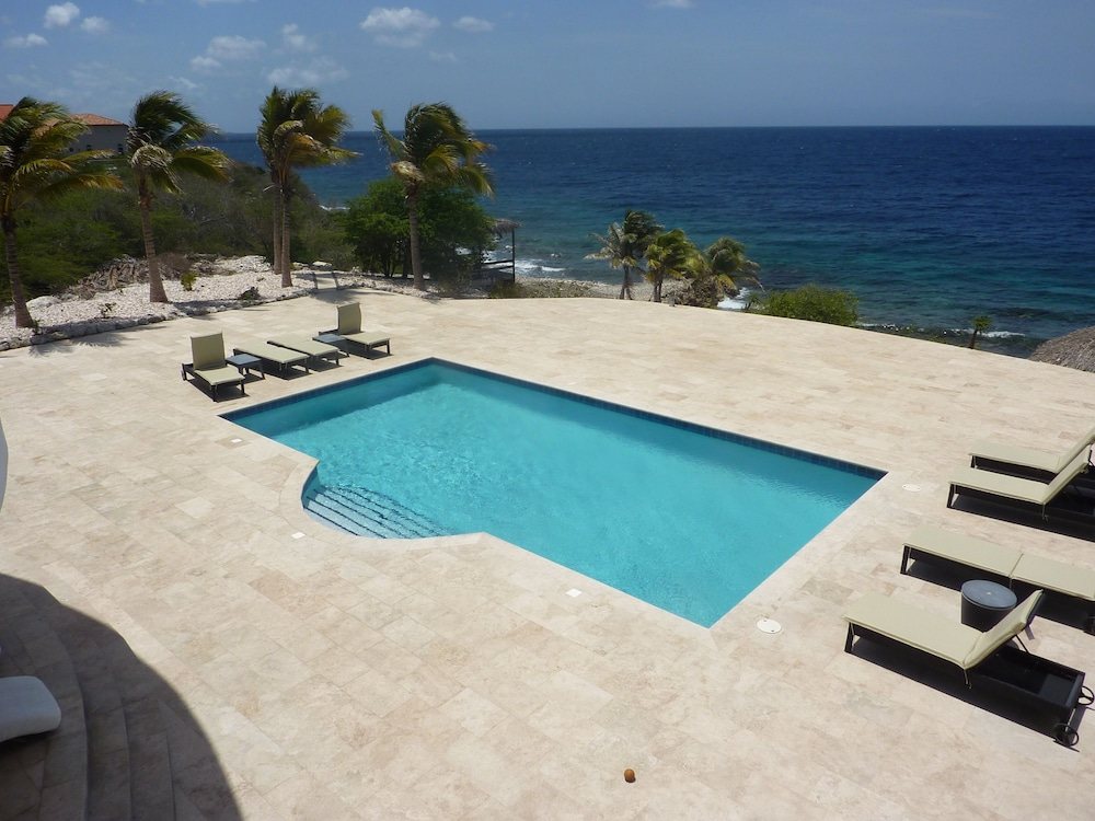 Pool, Luxury Oceanfront Villa With Private Beach and Home Cinema