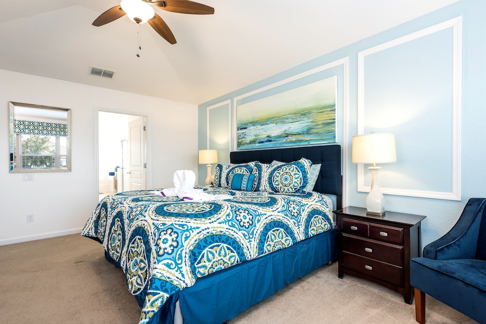 Last Minute Deal Luxury 6bd Villa Pool Spa Game Free Wi Fi Baby Gear In Orlando Hotel Rates Reviews On Orbitz