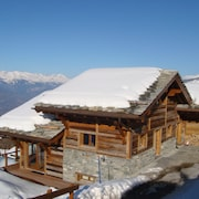 6* Luxury 6 Bed 6 Bath Ski Chalet In Four Valleys Switzerland