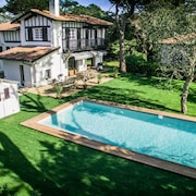Hossegor Villa 7 Rooms 14 Pers. 200m Central Beach Heated Pool