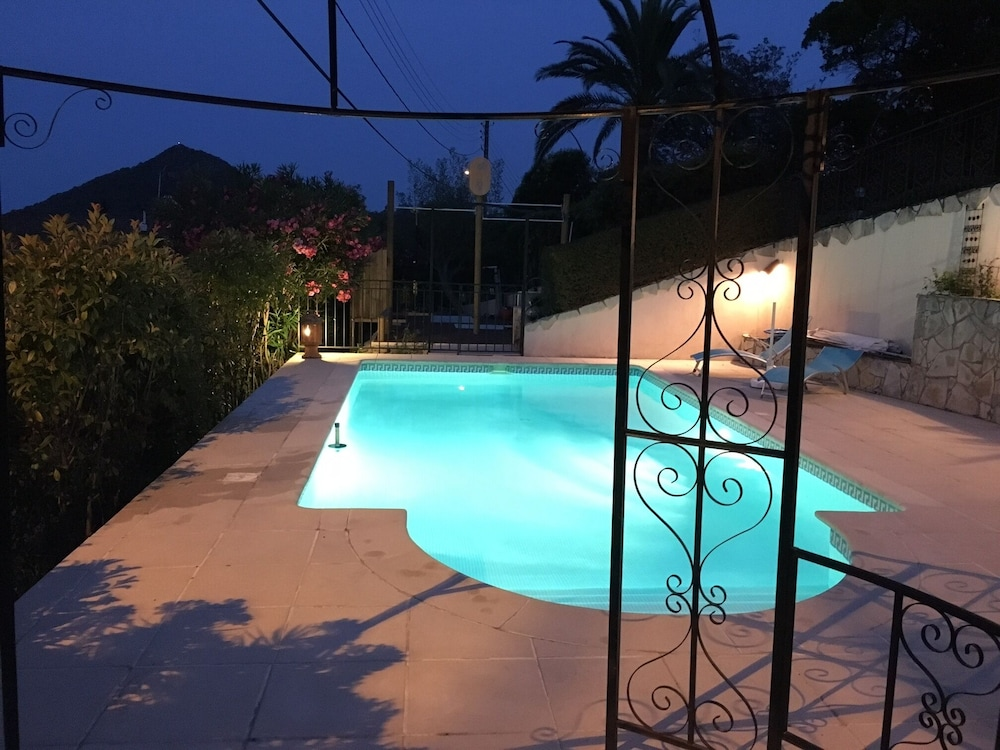 3 Rooms With Swimming Pool; Pergola for 4 to 5 People Near Cannes in ...