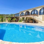 Luxury, Private, Mountain Views, Solar Heated Private Pool, Bbq, Near Lakes...