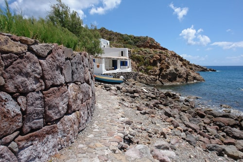 Unique Waterfront Location in Panarea, Right Next to the Beach