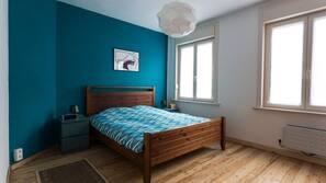 3 slaapkamers, babybedden, internet