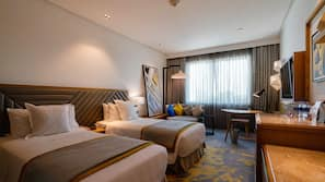 1 bedroom, premium bedding, down duvets, minibar
