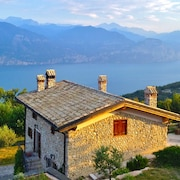 Loving Country House of the 17th Century With Astonished View of the Garda Lake