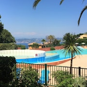 Nice 2 Rooms in a Beautiful Residence in Theoule sur mer