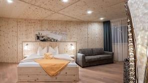 Een kluis op de kamer, individueel gedecoreerd, verduisterende gordijnen