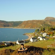 Glenelg - Detached House With Stunning Views Over the Sea to the Isle of Skye