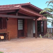 Cabin, Beautiful Views TO THE Sea, EL Teide, Orotaba, Wifi, Garden, Barbecue