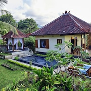 Dream House in the Rice Field With Veranda Overlooking the Sunset + Private Pool