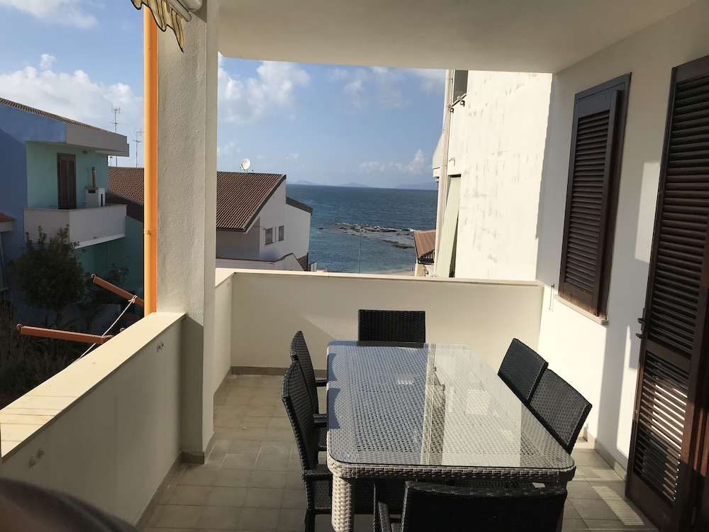 Balcony, Holiday House Near the Beach With a Wonderful sea View