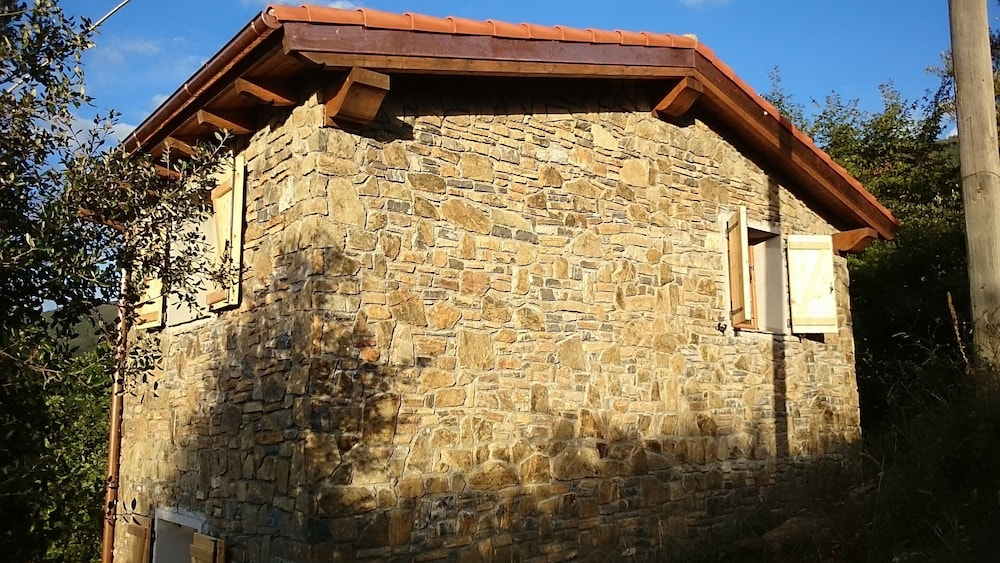 Exterior, Small Natural Stone House Rustico in Italy With Magical Alpine and sea Views