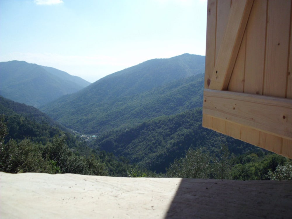 , Small Natural Stone House Rustico in Italy With Magical Alpine and sea Views