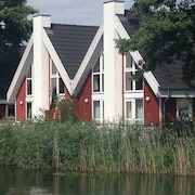 House at the Lake With Water Terrace