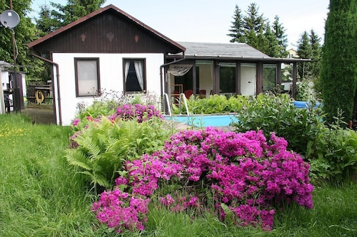 Detached Holiday Home With Exclusive use of Pool Close to Dresden