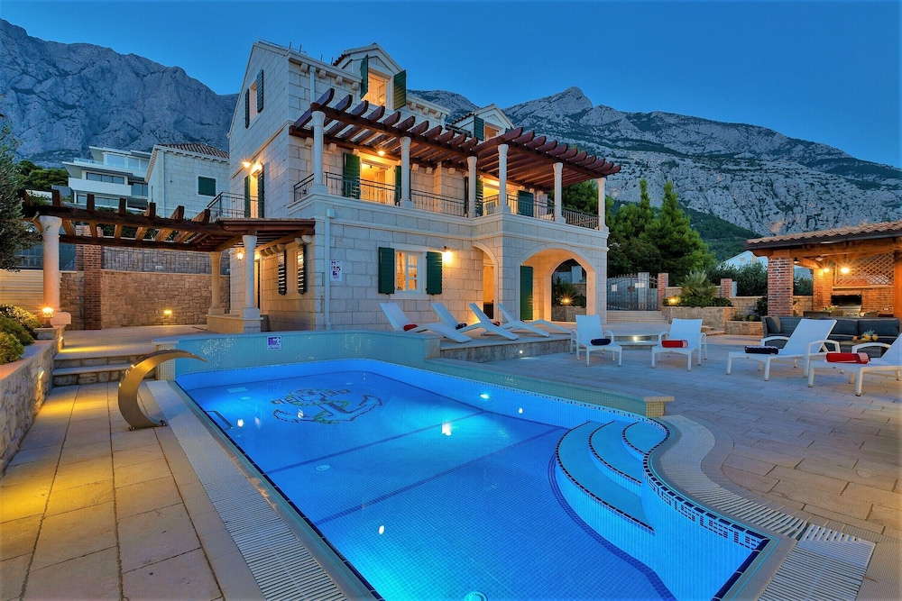 Featured Image, High-lux Villa Vikki With Pool and Seaview
