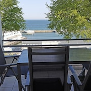 4 Star **** Apartment With Panoramic sea View, 1st Row, Sassnitz auf Rügen