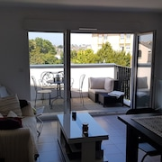 Beach OF THE Sillon in 400m, Nice T2 - Standing - Calm - Balcony - Wifi - Tout IN Foot