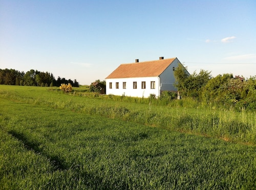 Waldviertel Holiday House in the Outskirts Calm Location With Large Garden, Dogs Welcome