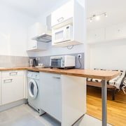 Studio 25m ² Renovated, Modern for 2, Great Location - Montparnasse P14