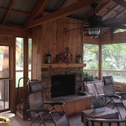 Rustic Elegant New Listing Lake Hamilton Cabin Near Everything /oaklawn Nearby