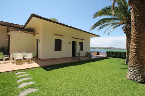 Villa on the sea in a Calm bay With Amazing View of Mount Etna
