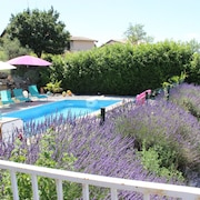 Villa Elodie, Swimming Pool, Spa, Fitness, Sauna, Cinema, Pétanque, Breathtaking View, Table Football