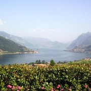 Lago D'iseo-flat,private Garden in Residence With Swimmimngpool