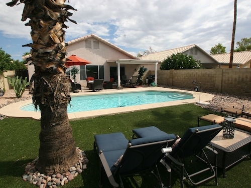 Great Place to stay Beautiful Phoenix Home, Close To Everything w/ Private Pool near Phoenix