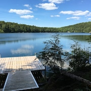 Serene Lakefront Cabin on Beautiful Spring Fed Pond - Close to Acadia and MDI