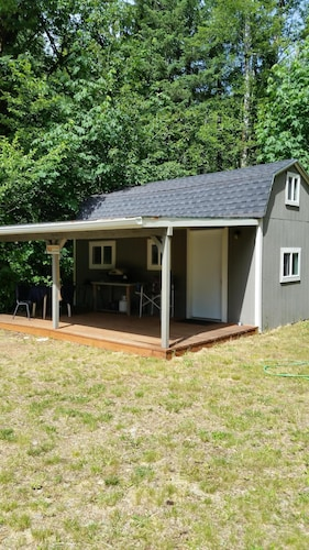 Check Expedia for Availability of Small Cabin Located Near Lake Cushman Resort