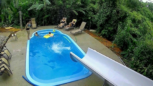 King Bed Studio in Jungle - Jacuzzi, Balcony w/ Great View, Pool, Waterslide