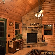 Beautiful Cabin In The Middle Of Ouachita Mountains Close To Atv Trails