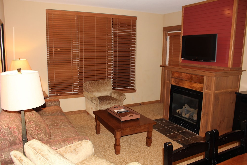 Living Room, One Bed Lux Suite Mt View 373