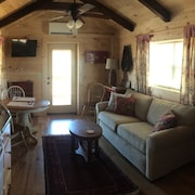 Green Creek Cabin # 1, 3 Miles From Tryon Int. Equestrian Center