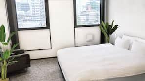 房內夾萬、熨斗/熨衫板、免費嬰兒床、免費 Wi-Fi