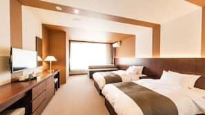 保險箱、隔音、免費 Wi-Fi、床單