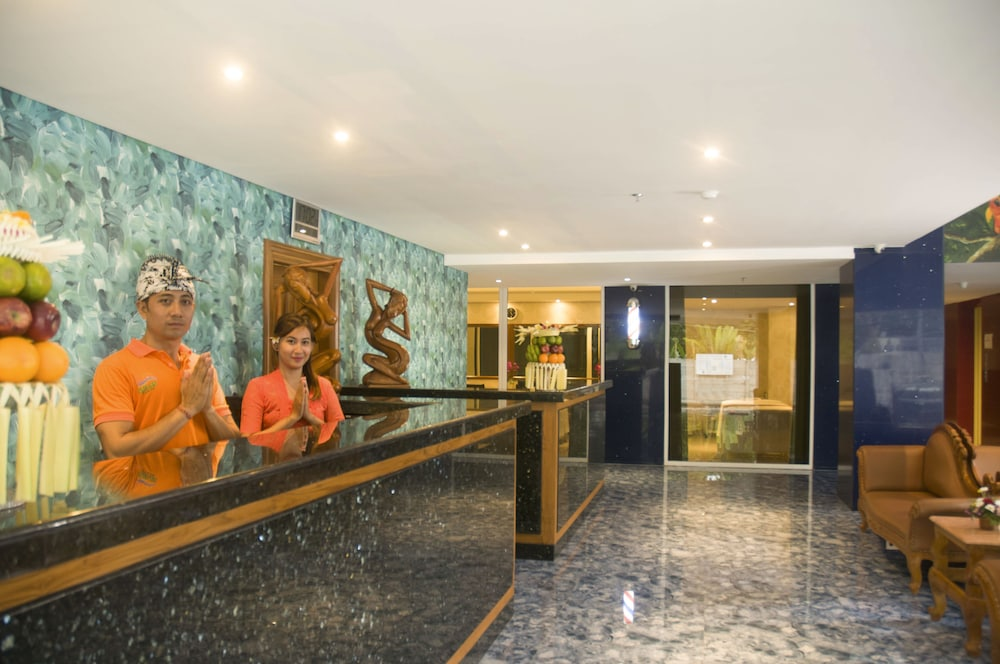 Reception, Sulis Beach Hotel and Spa