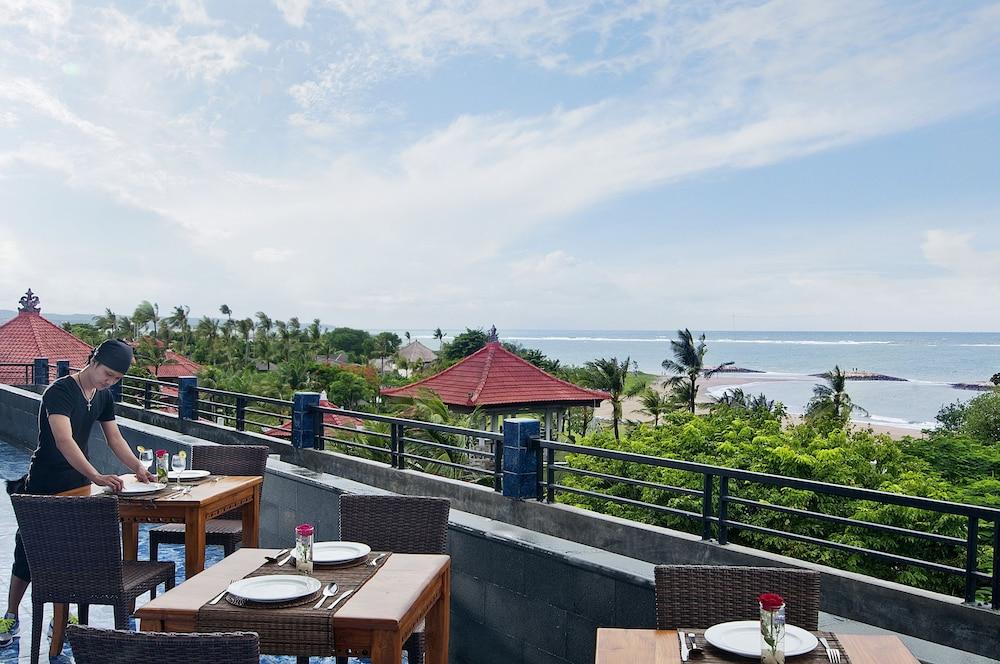 Rooftop terrace, Sulis Beach Hotel and Spa
