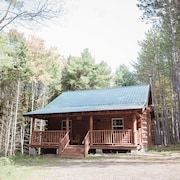 Secluded Neue Built LOG Cabin! Feuerstelle! Nahe Cooperstown, & Träume Park Baseball