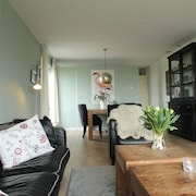 Ground-floor Apartment Right Outside Golf Course in Heiloo, North Holland