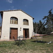 Private Hayloft With Garden Near Montespertoli - With Wi-fi