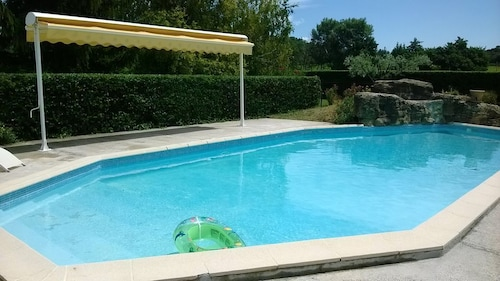 Provencal MAS With Private Pool Fenced in Visan UP Vaucluse