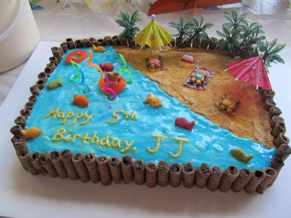 торт с морем и пляжем фото платье
